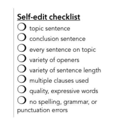 self-edit