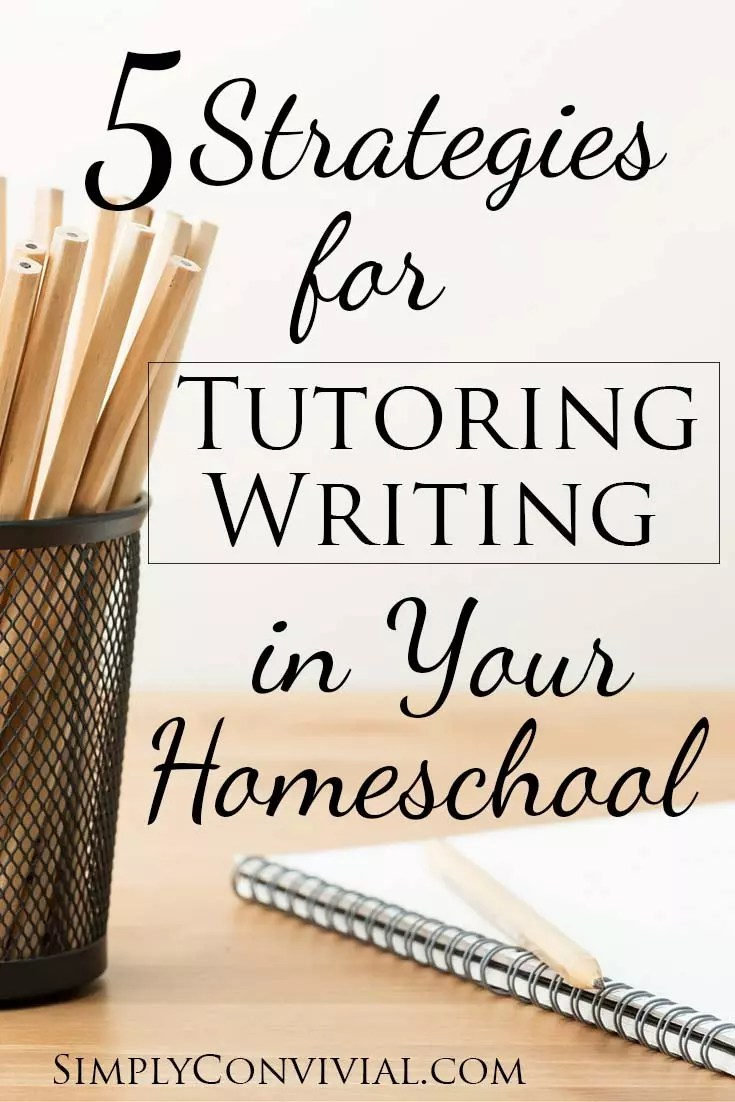 Tutoring writing is the only way to improve writing skills. Whether you homeschool or not, you can tutor writing at home with your child!