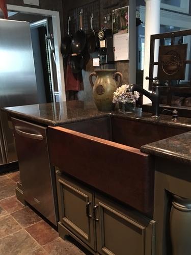 33 copper farmhouse kitchen sink 10 apron