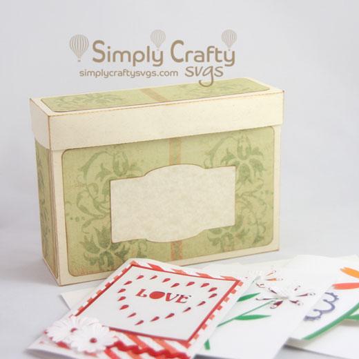Greeting card organizer svg file simply crafty svgs greeting card organizer svg file m4hsunfo