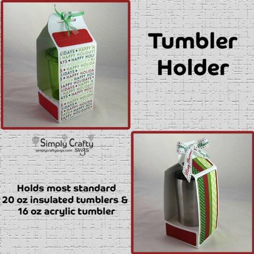 Tumbler Holder SVG File