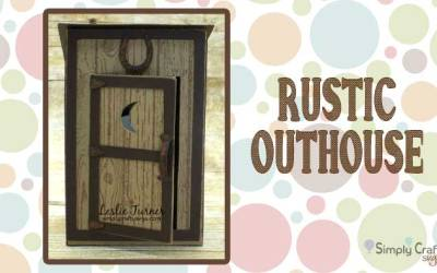 Rustic Outhouse by DT Leslie