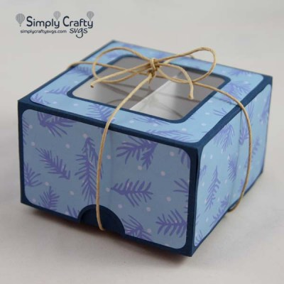 Square Candy Box SVG File