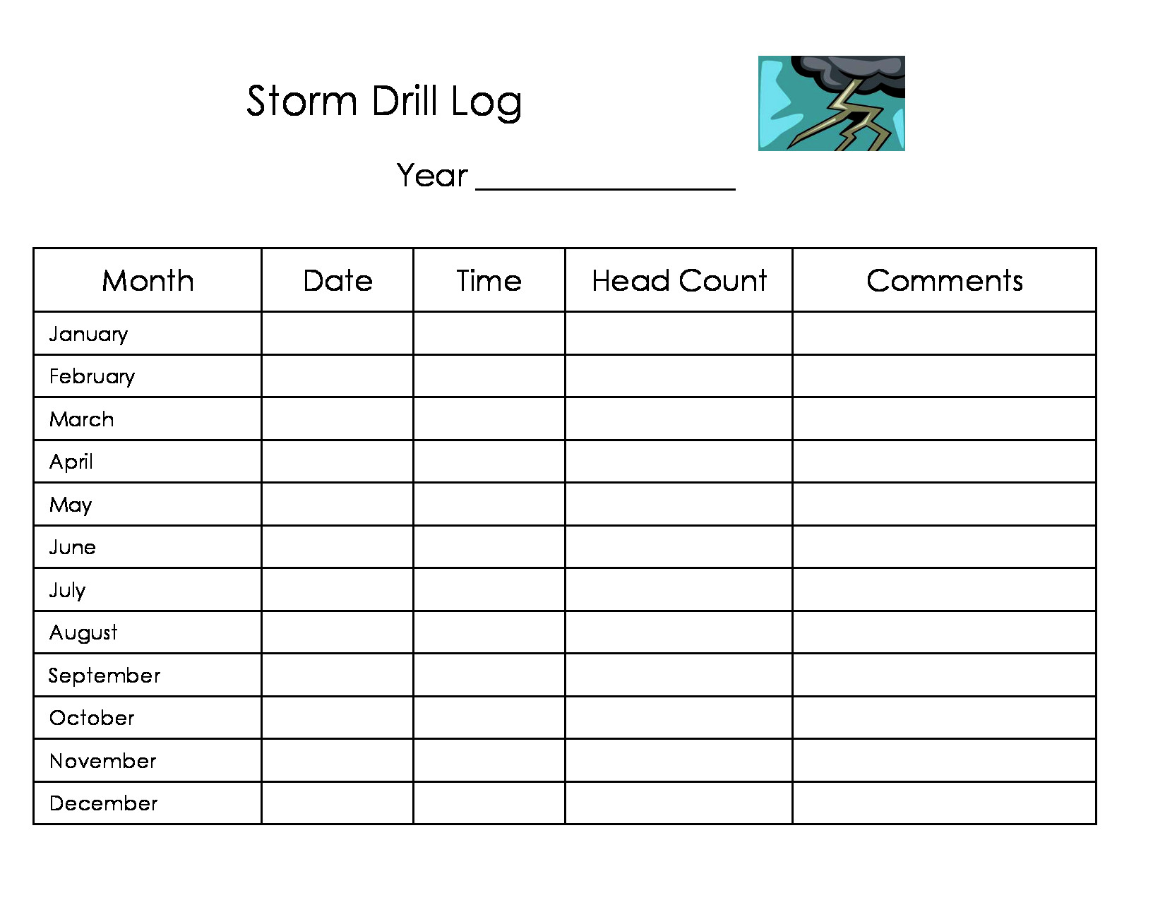 Divine Printable Daycare Forms