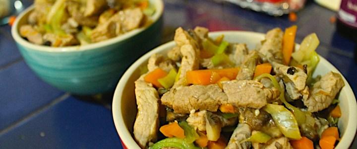 7-11: Oriental Pork Stir-Fry