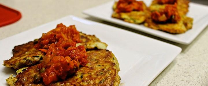 4-22: Zucchini Pancakes