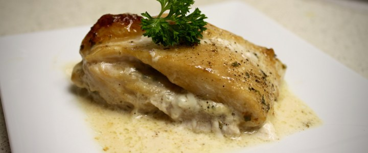 6-17: Chicken Breast with Cheesy Filling