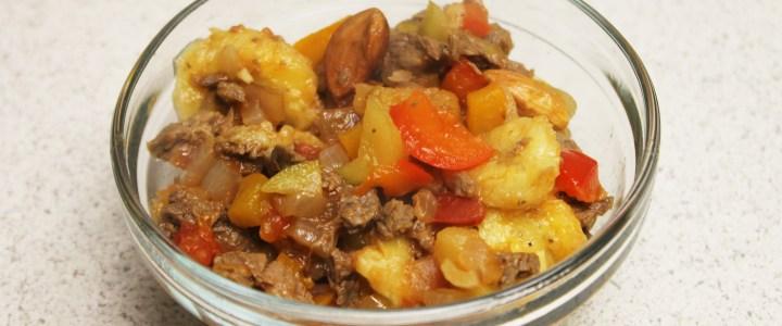 9-27: West Indian Meat Casserole