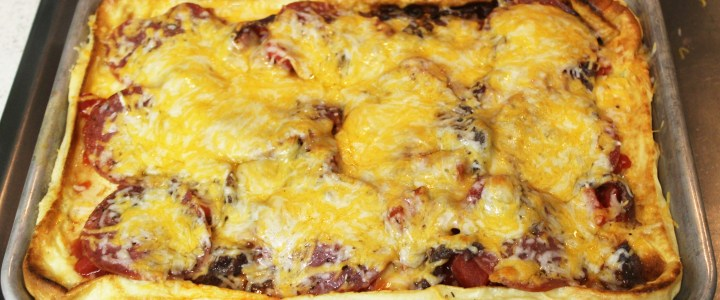 5-31: Oven Pizza Pancake
