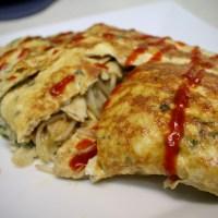 5-14: Thai Chicken Omelette