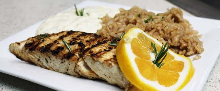 11-35: Grilled Pacific Halibut