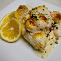 11-21: Baked Whitefish with Shrimp