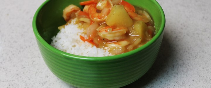 11-6: Sweet and Sour Shrimp