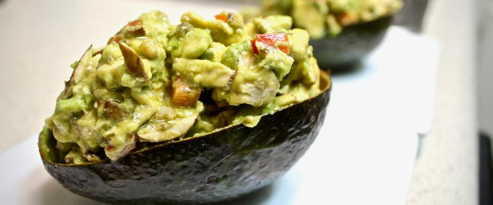 1-2: Marinated Stuffed Avocado