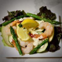 2-5: Caribbean Seafood Salad
