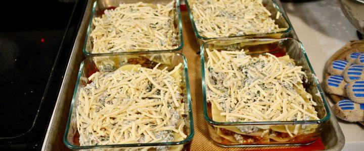13-15: Vegetarian Lasagna