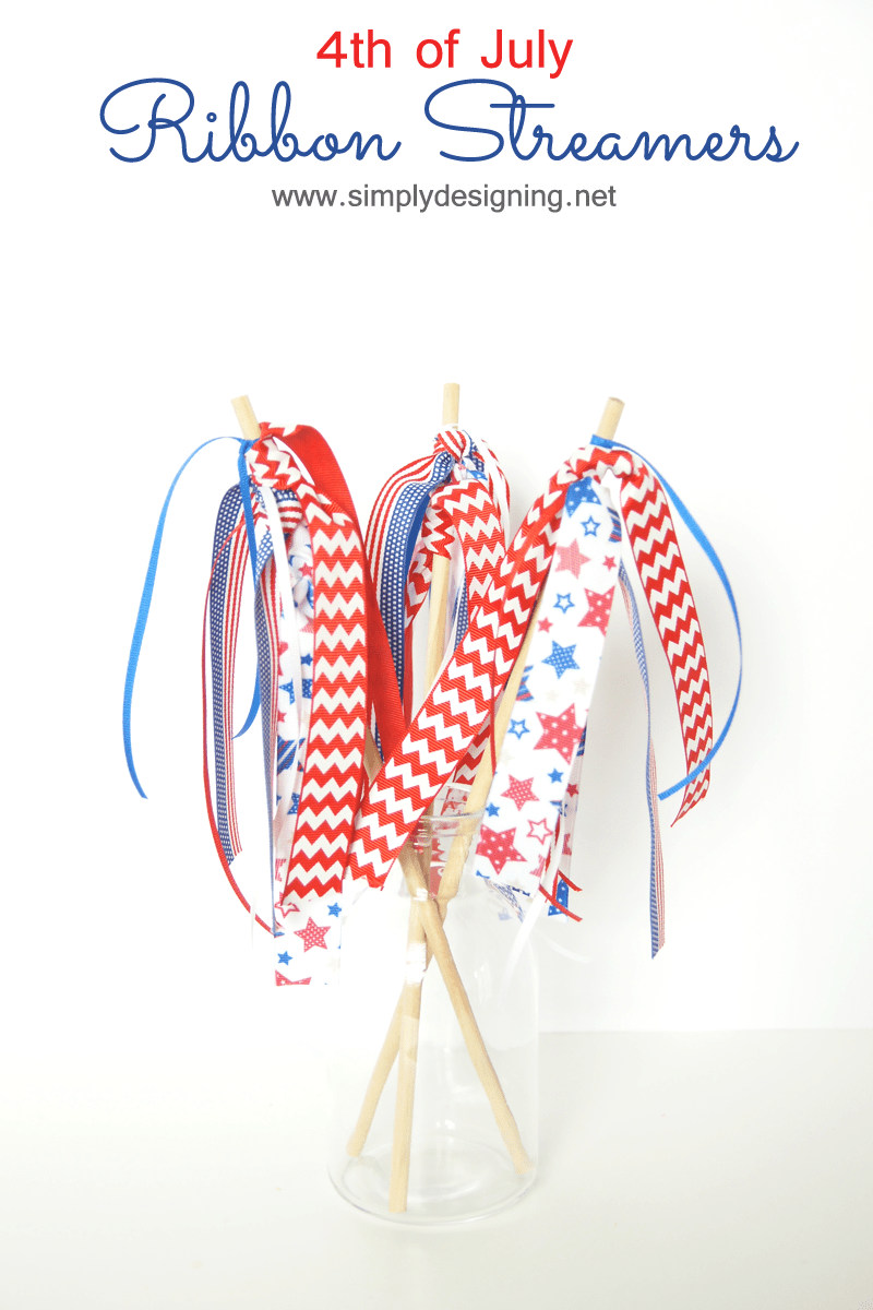 4th of July Ribbon Streamers