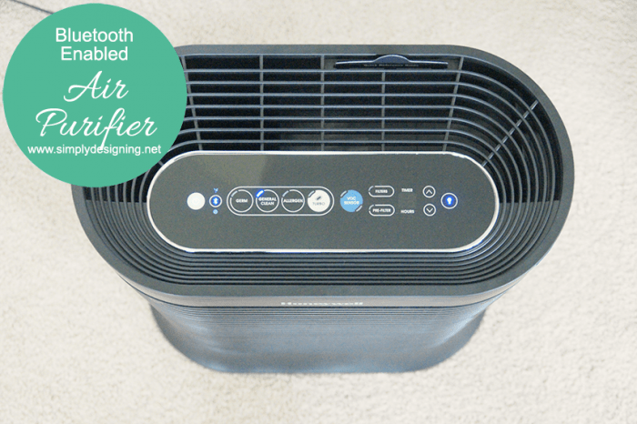 BlueTooth Enabled Air Purifier