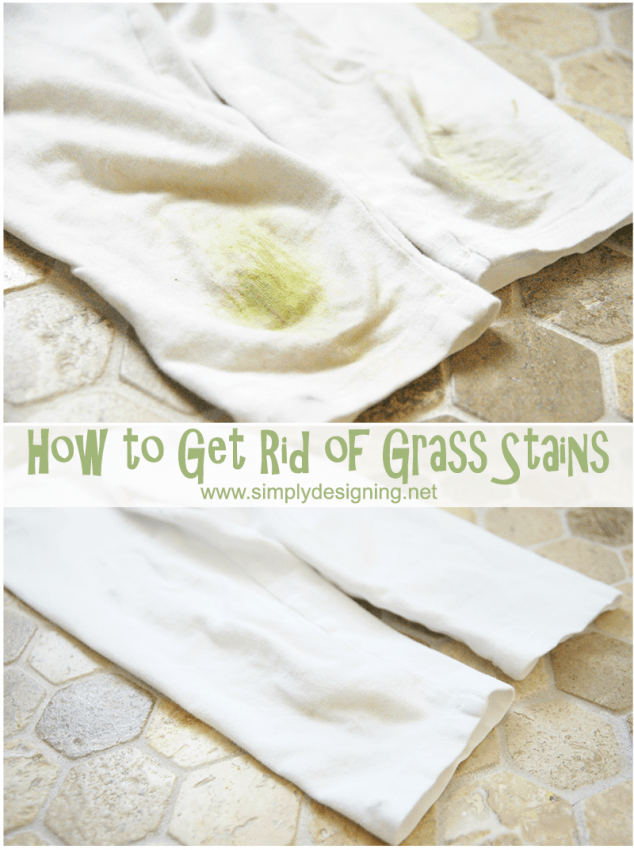 How to Get Rid of Grass Stains #cleaning