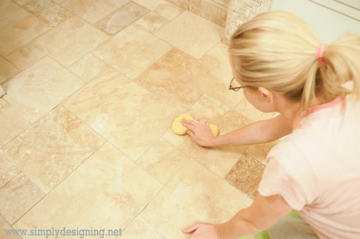 Seal Natural Stone Tile Kitchen Floor