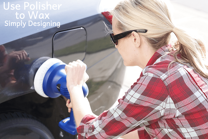 Use Polisher to Wax