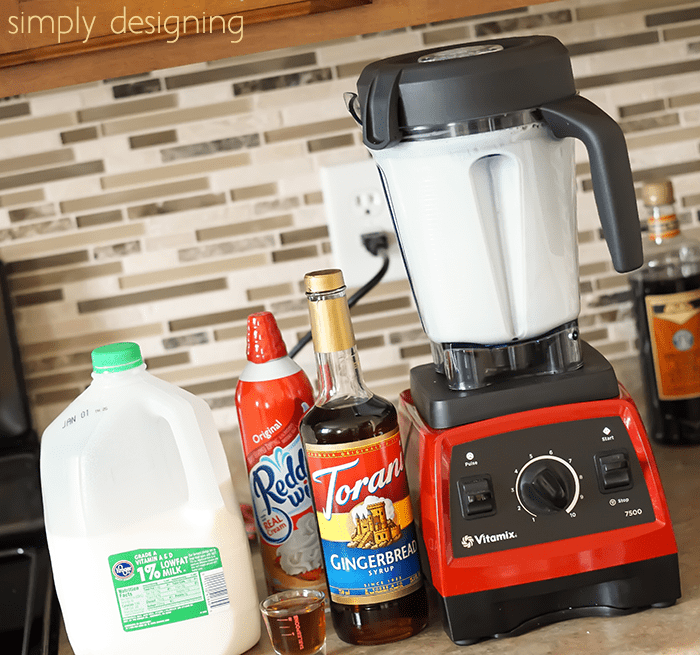 Chocolate Gingerbread Steamer in Vitamix