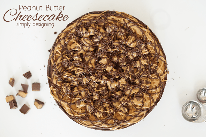 Homemade Peanut Butter Cheesecake