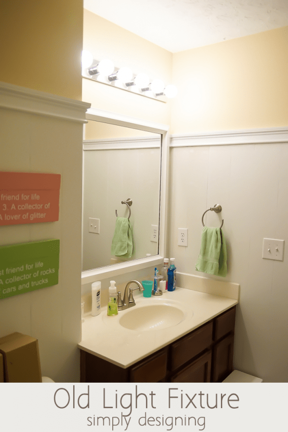 Bathroom Light Fixtures How To Install install a new bathroom light fixture