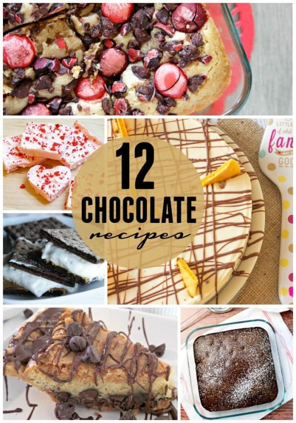 12 Chocolate Recipes