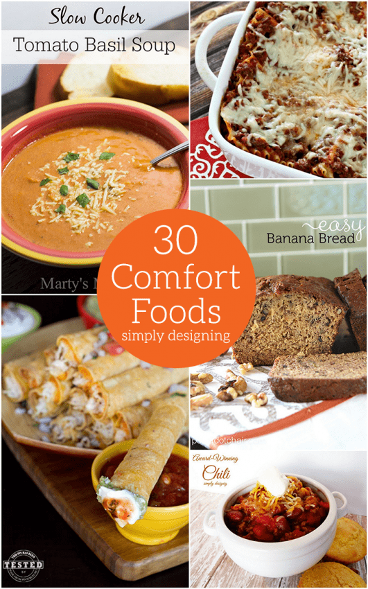 30 Comfort Foods Perfect for Winter