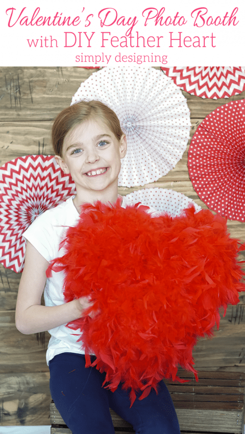 DIY Valentine's Day Photo Booth