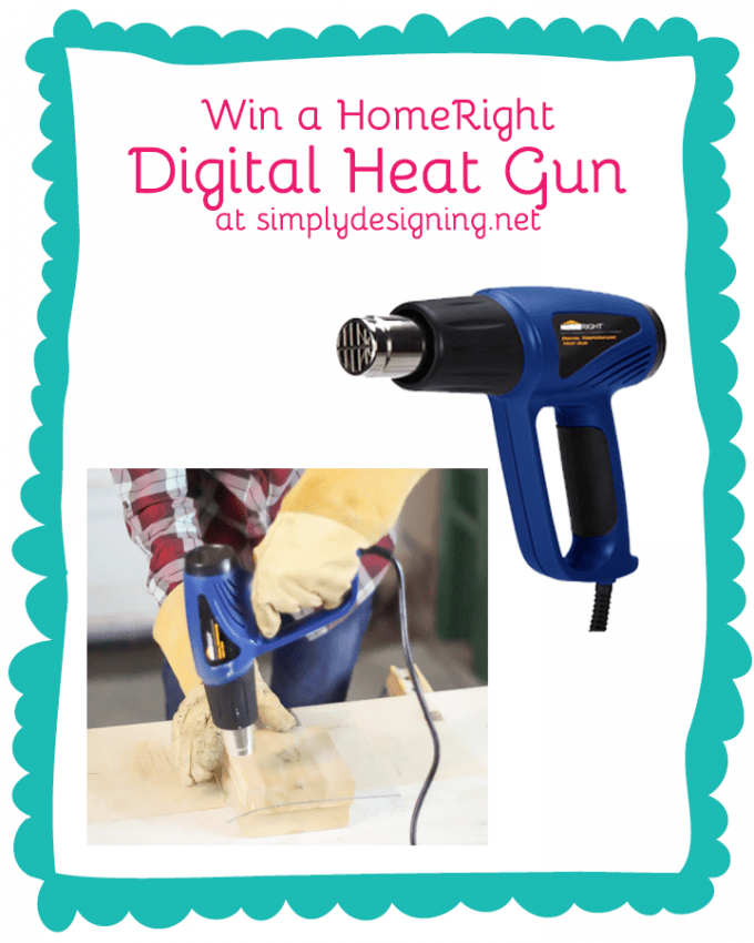 HomeRight Digital Heat Gun Giveaway