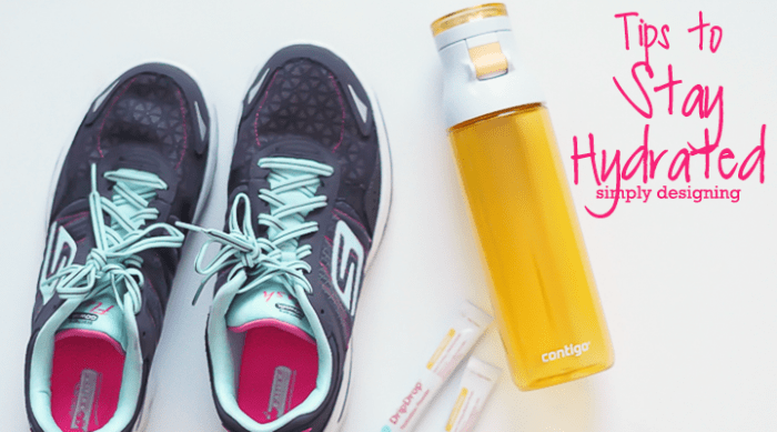 Tips to Stay Hydrated