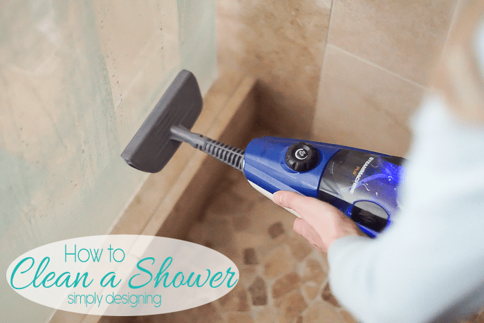 Use a HomeRight SteamMachine to Clean a Shower
