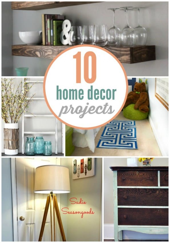 10 Stunning Home Decor Projects that you can do yourself