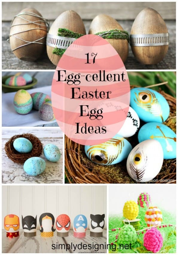 Easter Egg Ideas Collage