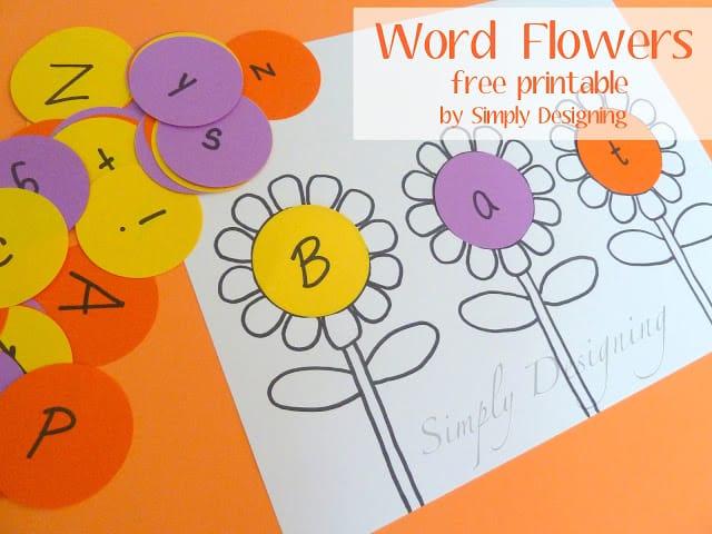 Word Flowers 01b