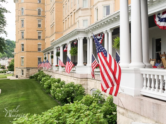 French hotel in indiana lick beauty!