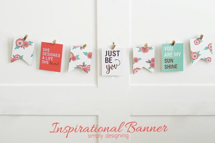 DIY Inspirational Banner