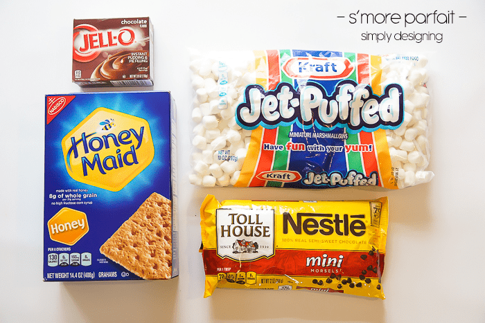 smore parfait recipe ingredients
