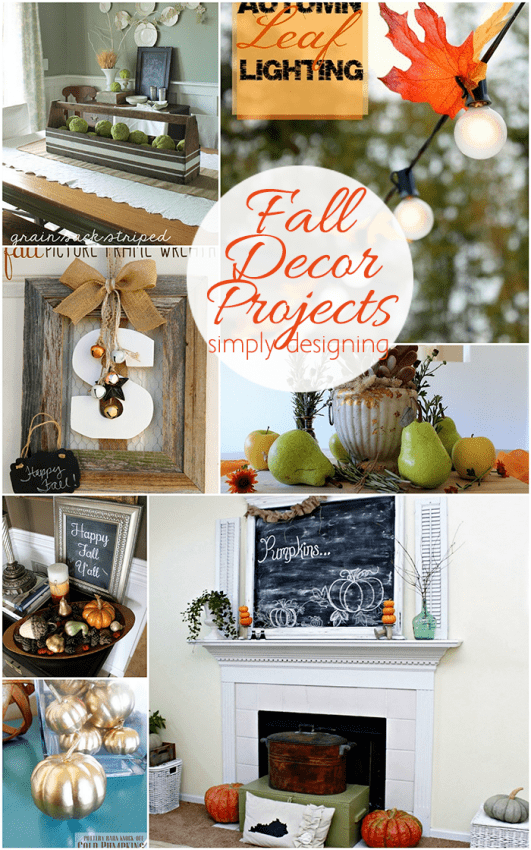 37 Fabulous Autumn Decorating Ideas And Fall Home Decor Projects