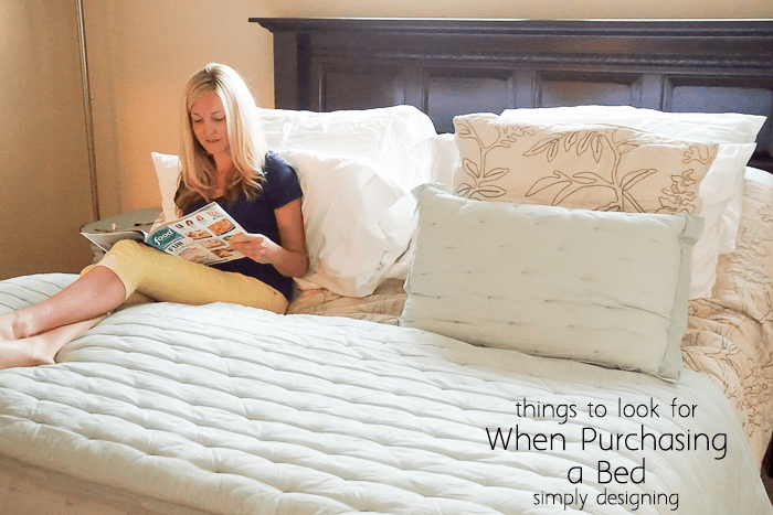 What To Look For In A Bed Simple Top Things To Look For When Purchasing A Bed Inspiration