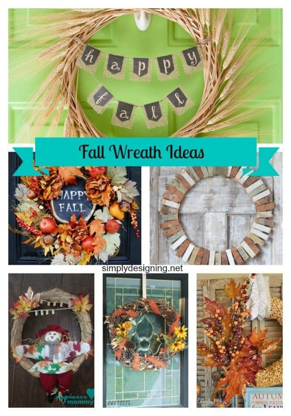 Fall Wreaths Pinnable