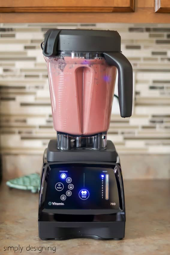Healthy Chocolate Raspberry Smoothie Recipe