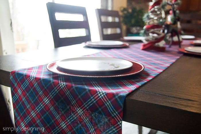 how to have a Stress-Free Christmas - Christmas Tablescape