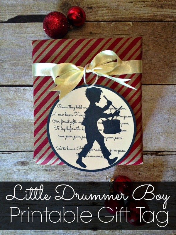 Little-Drummer-Boy-Printable-Gift-Tag