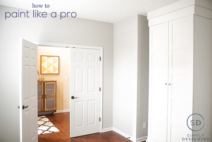 paint a room like a pro