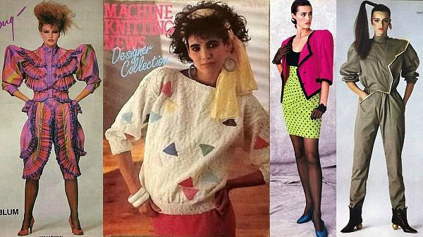80s Fashion at simplyeighties com 80s fashion collage