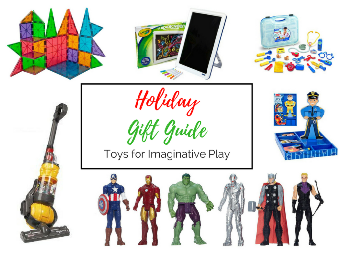 Holiday Gift Guide: Toys for Imaginative Play
