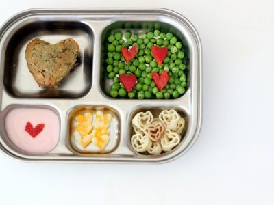 Valentine's Veggies & Bento Box Ideas